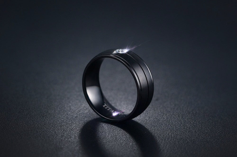 Pepe Black Diamond Ring