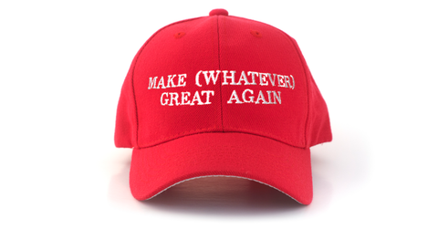 Custom Trump Hat