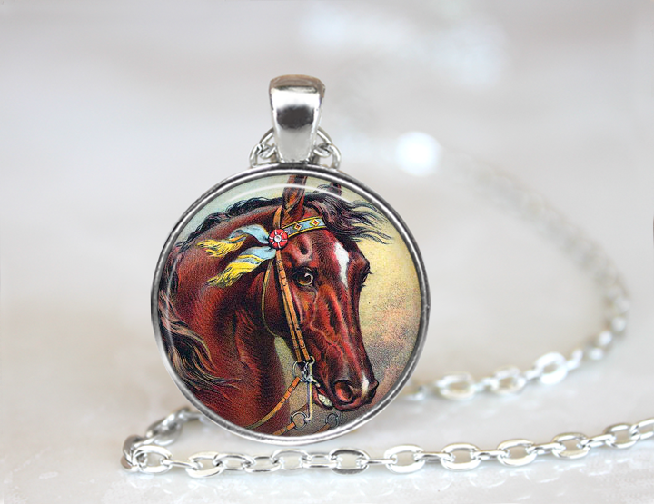 Traditional Horse Necklace