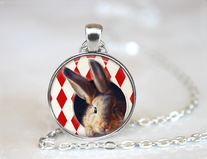 Bunny In Hole Necklace
