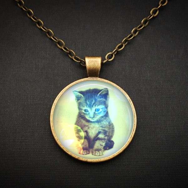 Kitty Angel Necklace