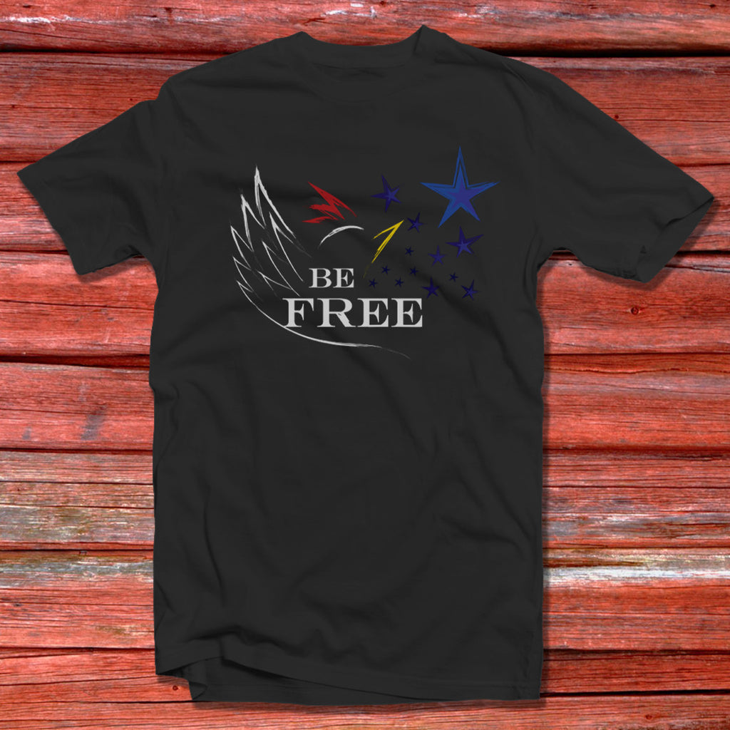 Be FREE womens t-shirt - CLUCK OFF