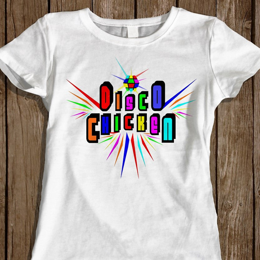Disco Chicken - Women's Tee