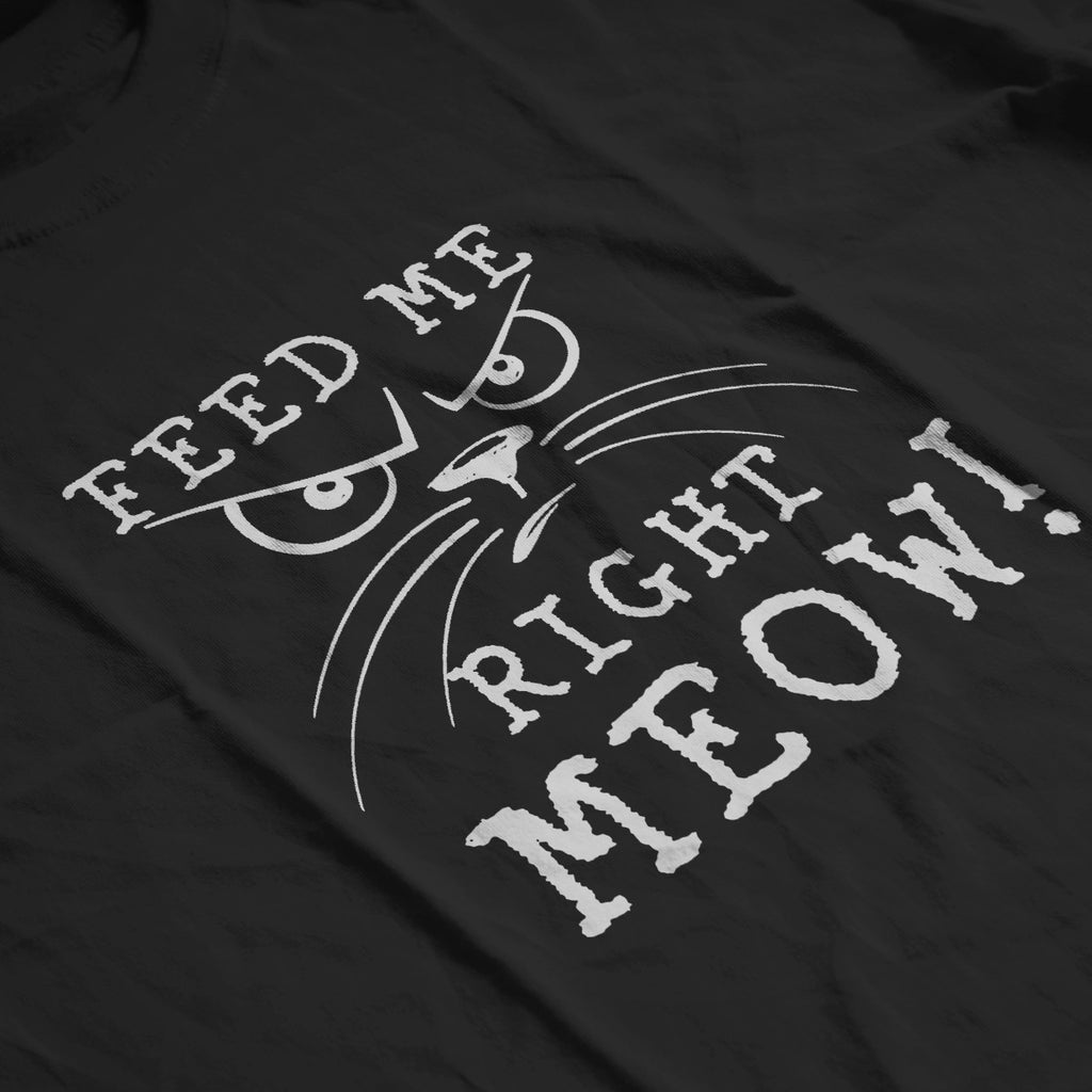 Feed Me Right MEOW! - Men's Tee
