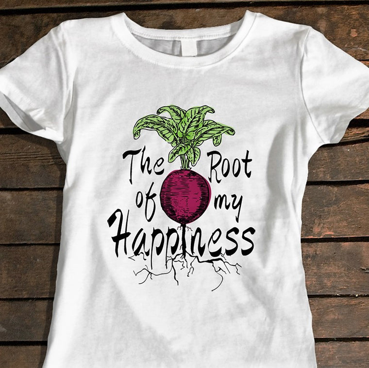 Beet Root Happiness - Women's Tee
