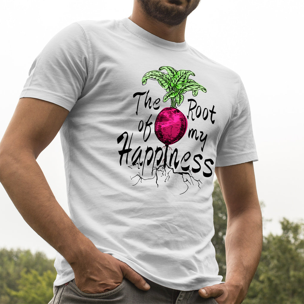 Beet Root Happiness - Men's Tee