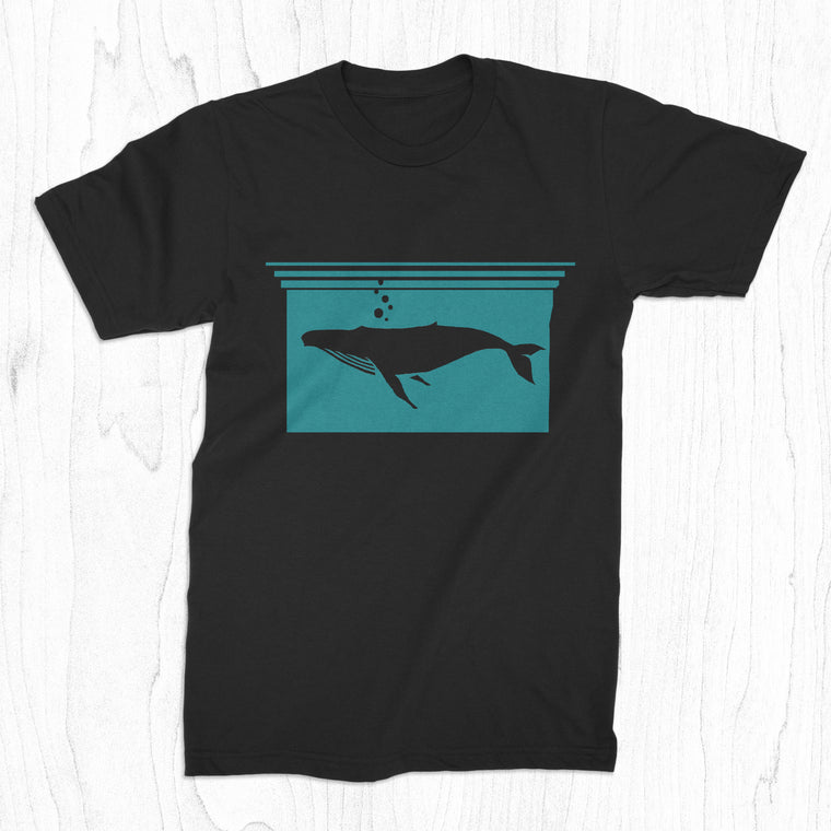 Whale Silhouette - Men's Tee