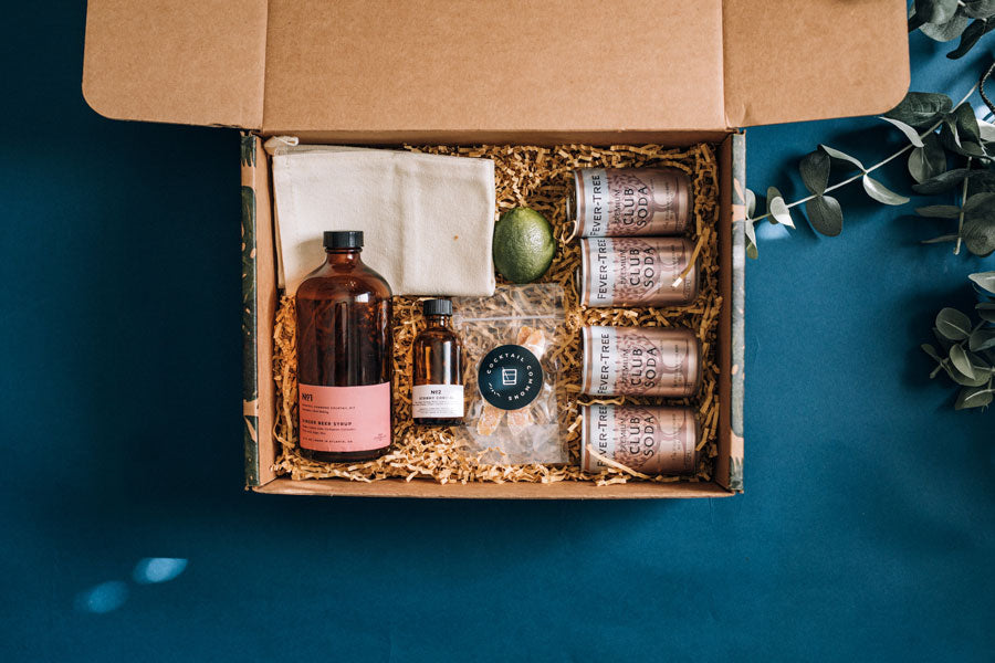 October's Craft Cocktail Kit: Mule Making