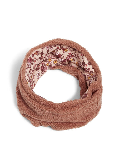 Teddy fleece loop scarf