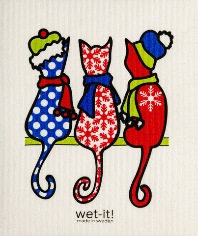 Cold Cats Swedish Cloth