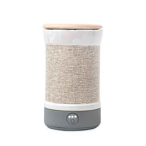 Signature Wax Warmer - Natural Canvas