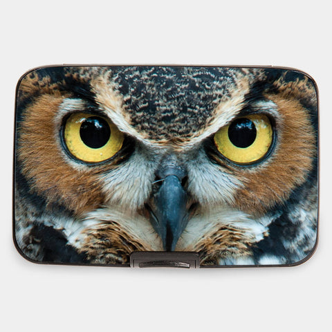 Monarque - Great Horned Owl Armored Wallet
