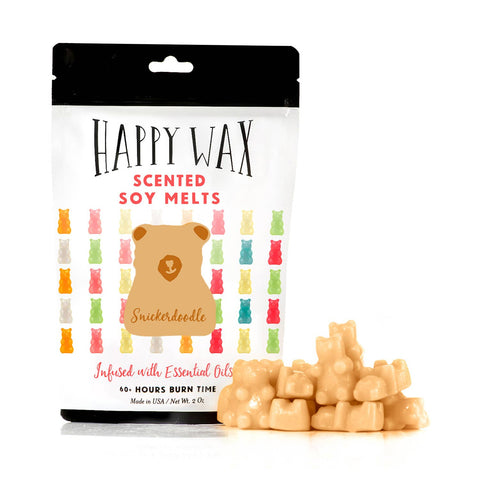 Happy Wax - NEW! Snickerdoodle Wax Melts - 2 oz Pouch