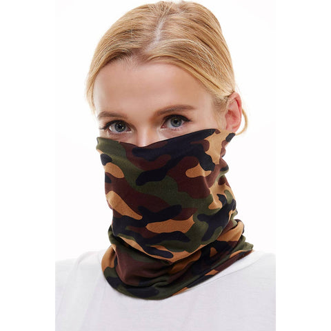 Mask USA made reusable Neck Gaiter/bandana/scarf camo face mask