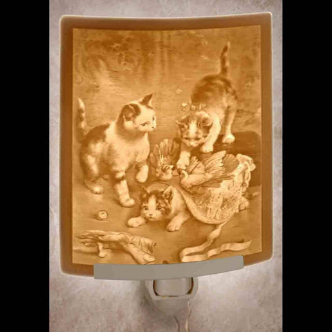 The Porcelain Garden Inc. - Mischief Makers Curved Night Light