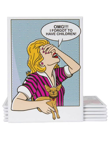 Dog is Good - OMG! I Forgot To Have Children Decorative Magnet