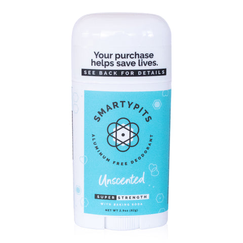 SmartyPits - Unscented | Standard Formula with Baking Soda