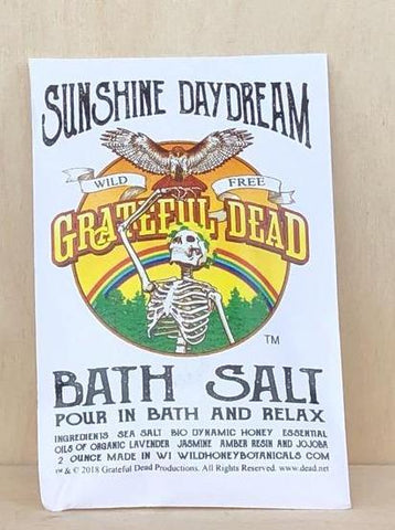 Bath Salt Grateful Dead TM /Sunshine daydream