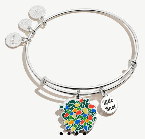 National Lampoon's Christmas Vacation Little Light Knot Charm Bangle.