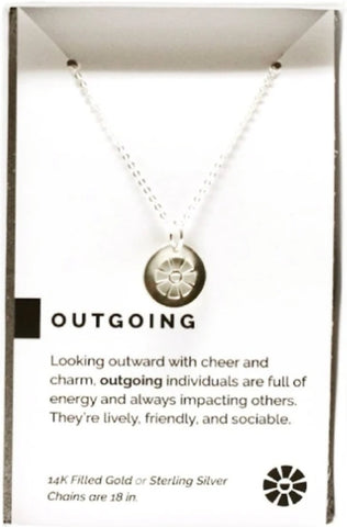 Outgoing necklace