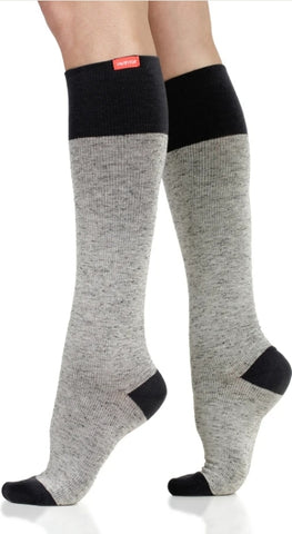 Compression Leg Wear Heather Grey dark/light