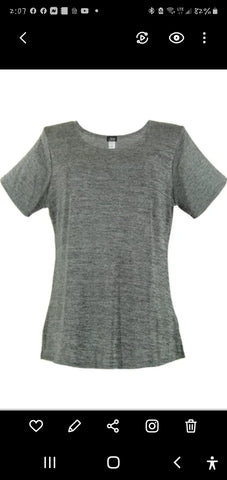 Jostar Made in USA Heather Grey Top