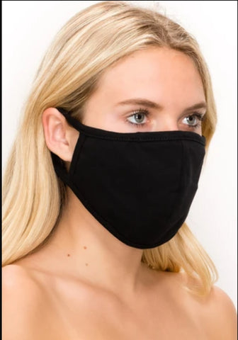 Jostar LARGE SIZE COTTON 3 LAYERED REVERSIBLE WASHABLE FACE MASK