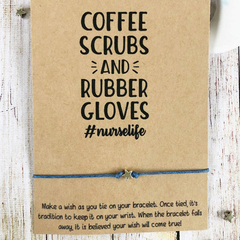 Wishlets - Coffee Scrubs And Rubber Gloves