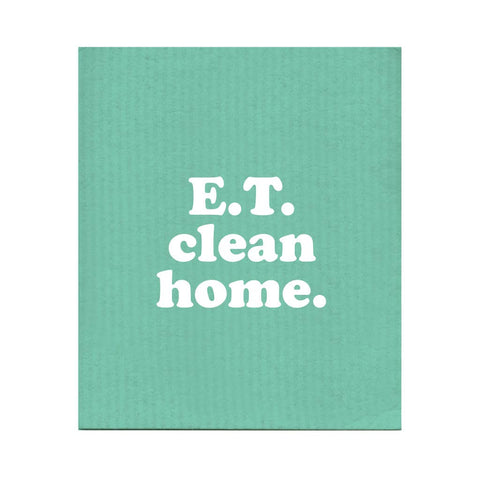 Boldfaced Goods - E.T. Clean Home Dishcloth