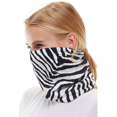 USA reusable zebra stripped Neck Gaiter/bandana/scarf face mask