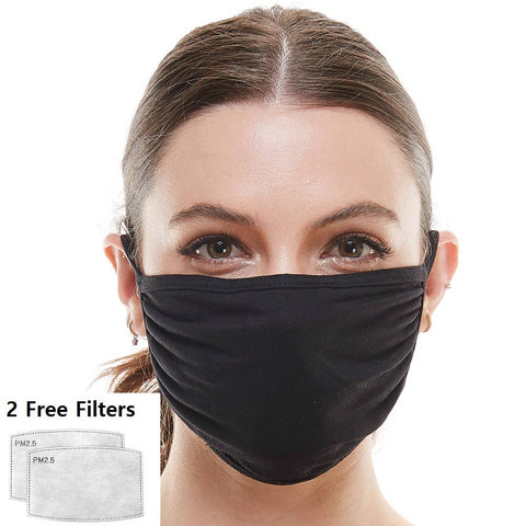 Mask made in USA reusable cloth face mask