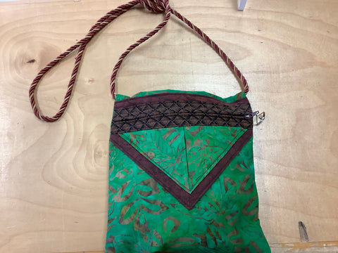 #11 2011 handmade green purse