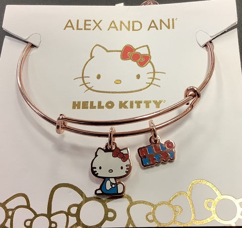 Hello Kitty Duo Charm Shiny Rose Gold
