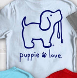 Youth  Puppy Love. T shirts that help animals in shelters