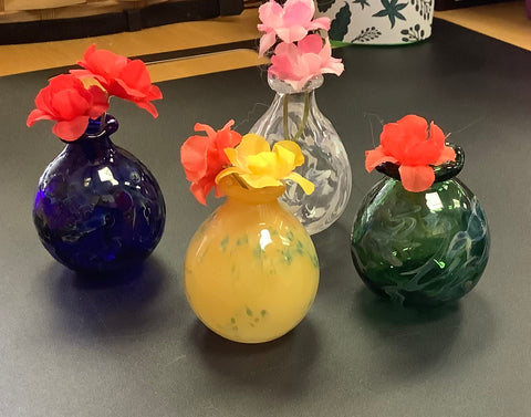 Mini Vases by Cheryl
