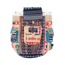 RECYCLED TRAVEL BACKPACK - MUMBAI