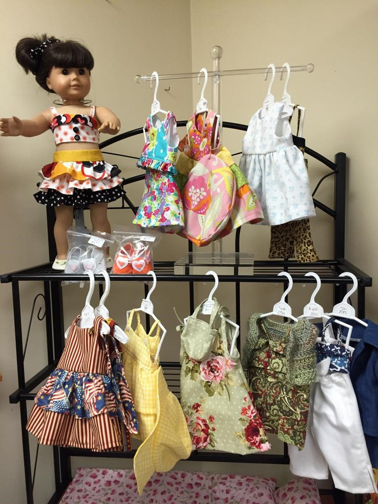 handcrafted american girl doll clothes