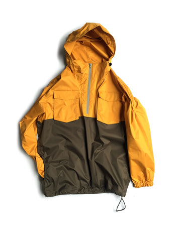 0001.1.A Anorak Color variation MUSTARD×KHAKI