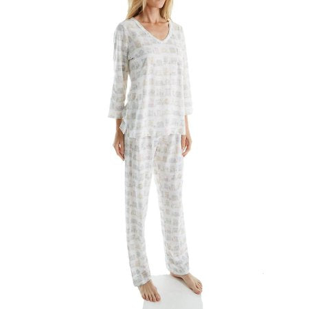 Carole Hochman Pajamas in Novelty Print Plus size / Curvy - GoldKloth Boutique