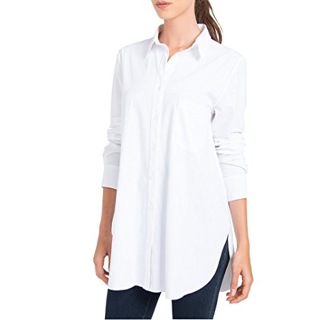 Lysse Schiffer Button down Big Shirt - GoldKloth Boutique