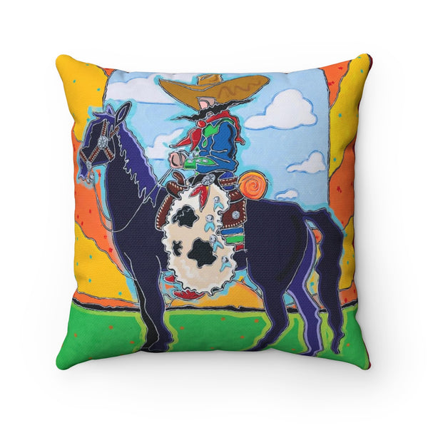POP Remmington-Spun Polyester Square Pillow