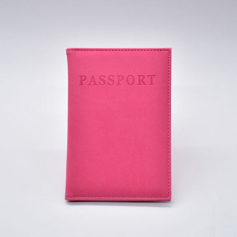 Ladies Leather Passport Case