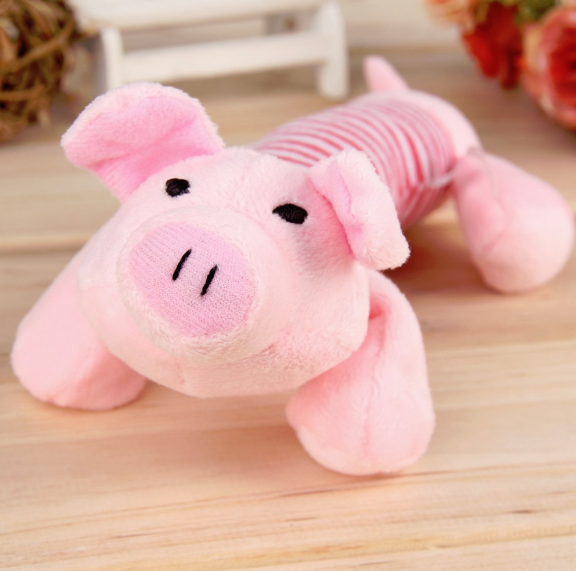 Plush Puppy Squeaky Toys