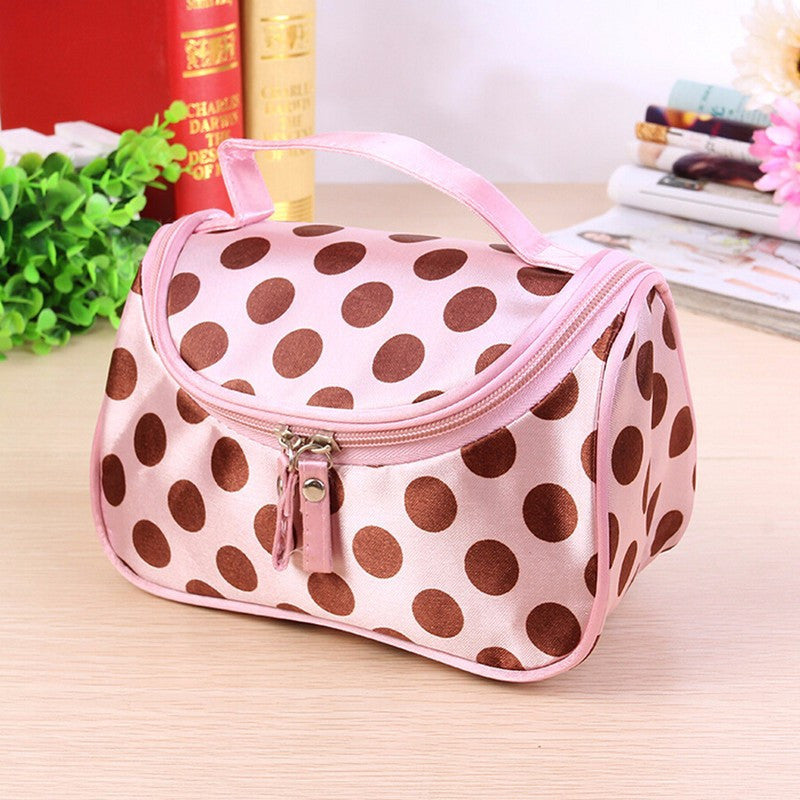 Ladies Travel Cosmetic Organizer - 3 colors available