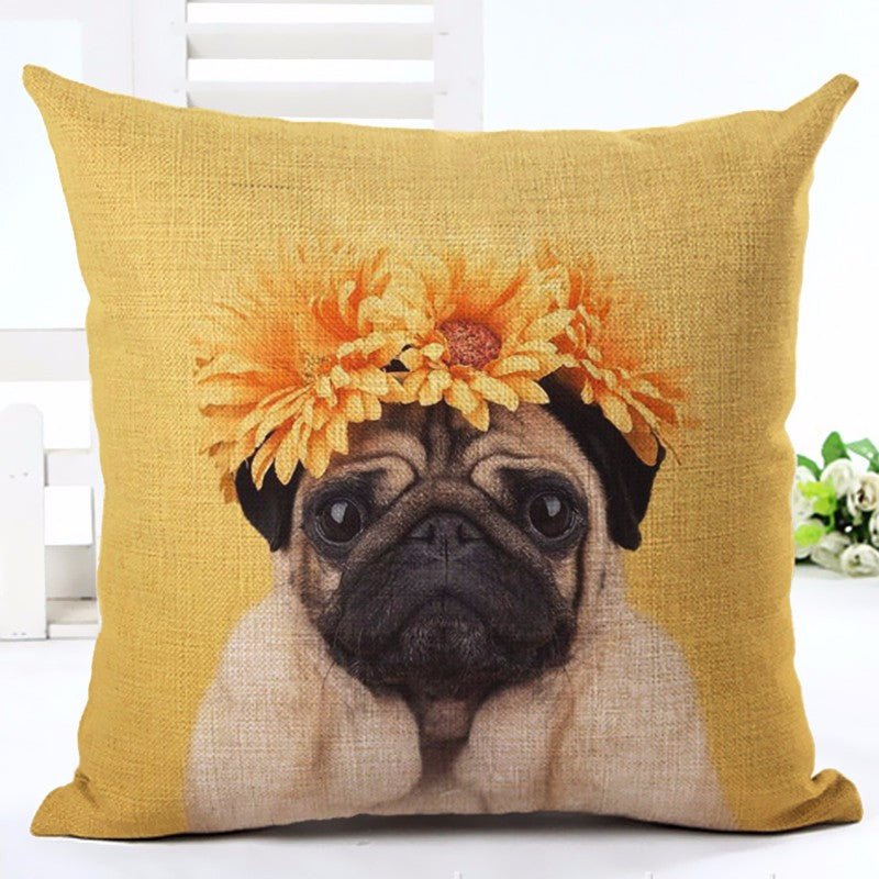 Pug Lover Pillow Covers