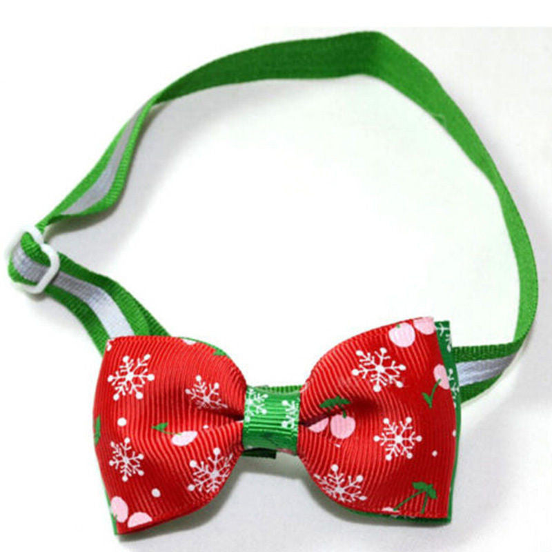Christmas Bowtie for Cats and Small Dogs