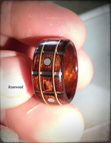 The Original Guitar Fretboard Bentwood Ring