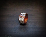 Specialty Inlay Guitar Fretboard Ring
