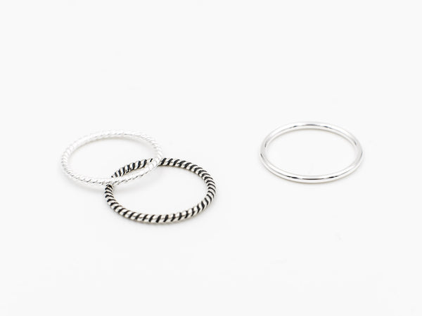 Stacking Ring Set (A set of 3)