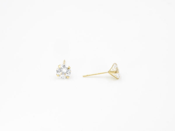 Gold Trilust Earrings
